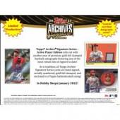 2022 Topps Archives Signature Series Baseball 20 Box Case