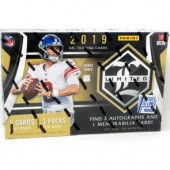 2019 Panini Limited Football 1st Off The Line Hobby Box