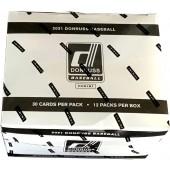 2021 Donruss Baseball Trading Card Value Box