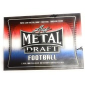 2021 Leaf Metal Red White and Blue Football Box