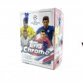2020/21 Topps Chrome UEFA Champions League Soccer Blaster Box