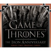 Game of Thrones Iron Anniversary Series 2 Trading Cards - 10 Box Case