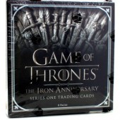 Game of Thrones Iron Anniversary Series 1 Trading Cards - 10 Box Case