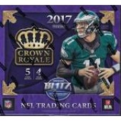 2017 Panini Crown Royale Football Retail 20 Box Case