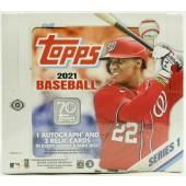 2021 Topps Series 1 Baseball 24 Pack Retail Box