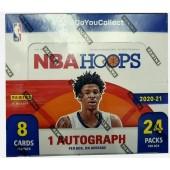 2020/21 Panini NBA Hoops Basketball Retail Box