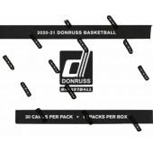 2020/21 Panini Donruss NBA Fat Pack Cello Box
