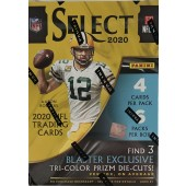 2020 Panini Select Football 6-Pack Blaster Box