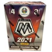 2020/21 Panini Mosaic UEFA Euro 2020 Soccer Blaster 8-Pack Box