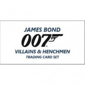 2020 Upper Deck James Bond Villains & Henchmen Box