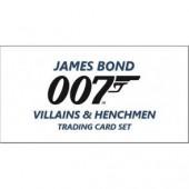 2020 Upper Deck James Bond Villains & Henchmen 12 Box Case
