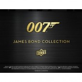 2018 Upper Deck James Bond Collection Trading Cards Box